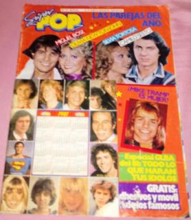 Antigua Revista Super Pop Camilo Sesto Miguel Bose Año 1981