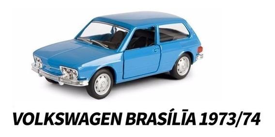 Miniatura Carro Clássicos Nacionais - Vw Brasilia