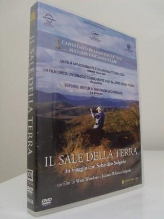 Dvd O Sal Da Terra - Wim Wenders - Original, Importado