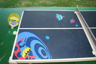 Mesa De Ping Pong Infantil Buzz Lightyear