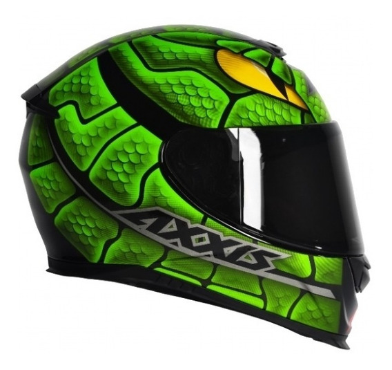 Capacete Axxis Eagle Snake-green