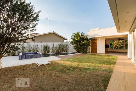 Casa Para Aluguel - Lot. Alphaville Campinas, 4 Quartos, 610 - 893045081
