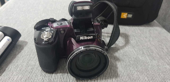 Camara Nikkon Coolpix L830 Color Purpura Como Nueva