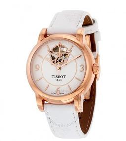 Relógio Tissot Powermatic 80 Automático Feminino Heart Branc