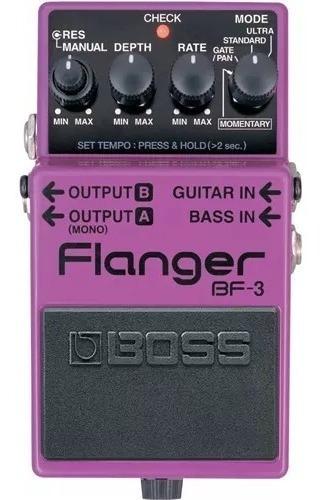 Pedal Boss Bf3 Flanger + Nf E Garantia Oferta