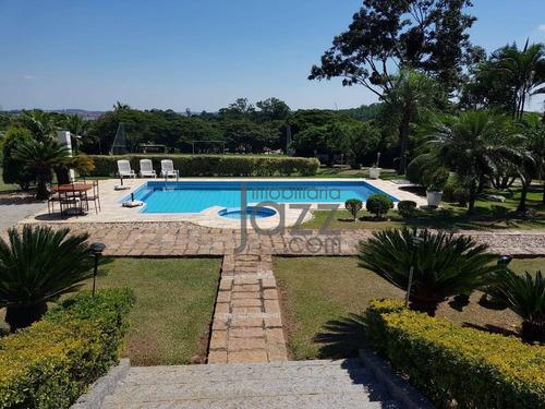 Maravilhosa Chácara De 5000m2 Com 4 Dormitórios À Venda Por R$ 1.950.000 - Lagos De Shanadu - Indaiatuba/sp - Ch0254