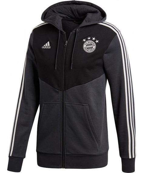 Campera adidas Modelo Bayern Munich Fz Hoody - (3039)