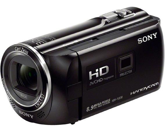Filmadora Sony Hdr-pj230 Full Hd Lcd 2,7 Zoom Óptico 32x Top