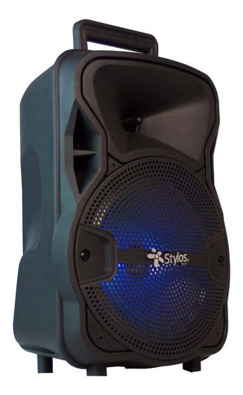Bocina Portatil Bluetooth Recargable Amplificada Stylos