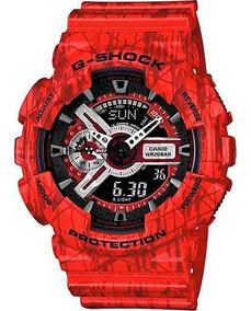 Relógio Casio Masculino G-shock Ga-110sl-4adr