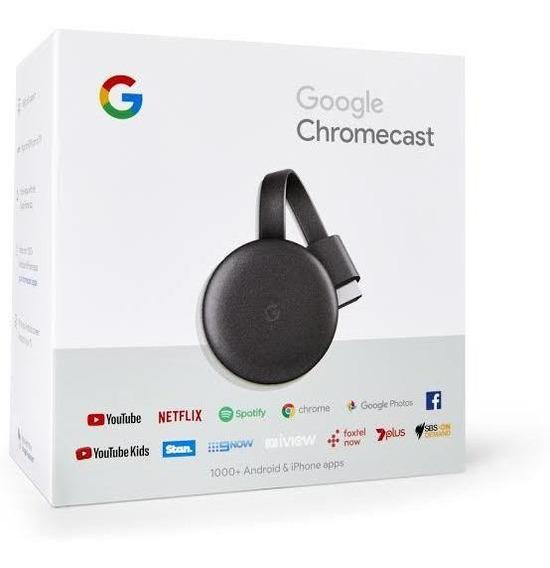 Google Chromecast 3 Hdmi 1080p Original