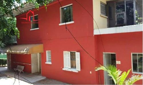 Casa Para Alugar No Bairro Pacaembu Em São Paulo - Sp.  - 2462-2