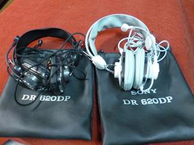 Fones De Ouvido, Headphones, Sony, Com Mic, Excelente.