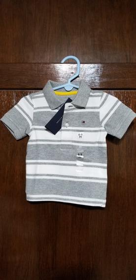 Camisa Tommy Hilfiger Niño 100% Original 100% Nueva Lins