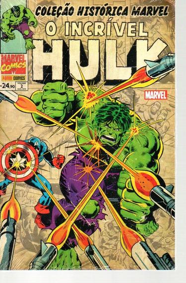 Colecao Historica O Incrivel Hulk 2 - Bonellihq Cx34 D19