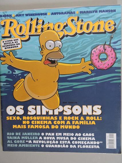 Revista Rolling Stone N°10-amy Winehouse,renato Russo,iggy