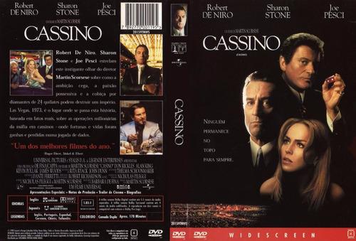 Dvd Cassino (1995) Robert De Niro - Dublagem Clássica Da Tv | Mercado Livre