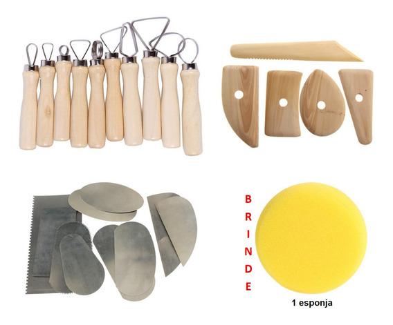 Materiais Para Trabalhos Artesanais Em Cerâmica 25 Pcs
