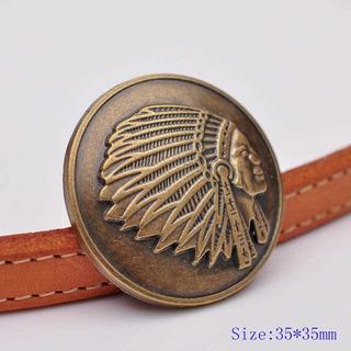 Emblema Indian Motorcycle Pin Para Chaleco Chamarra Indian