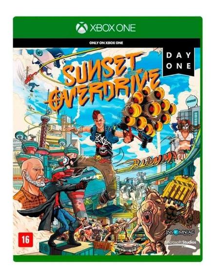 Jogo Xbox One Sunset Overdrive Original Mídia Física