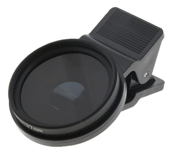 Filtro De Lente Polarizada Circular Fina E Eficiente De 37mm