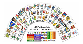 Schkidules 153 Pc Complete Collection Combo Pk Para Horarios