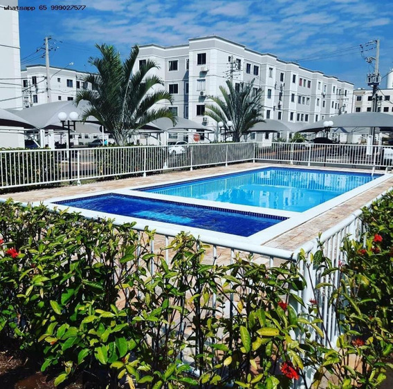 Apartamento/usado Para Venda Em Várzea Grande, Nova Várzea Grande, 2 Dormitórios, 1 Banheiro, 1 Vaga - 508_1-1434483