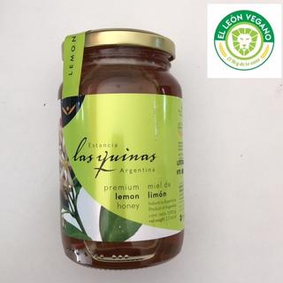 Miel Monofloral Limon Las Quinas, 100% Pura, Sin Tacc, 500g