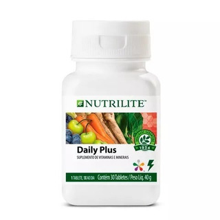 Vitamina Daily Plus 30 Capsulas Nutrilite Amway Complemento