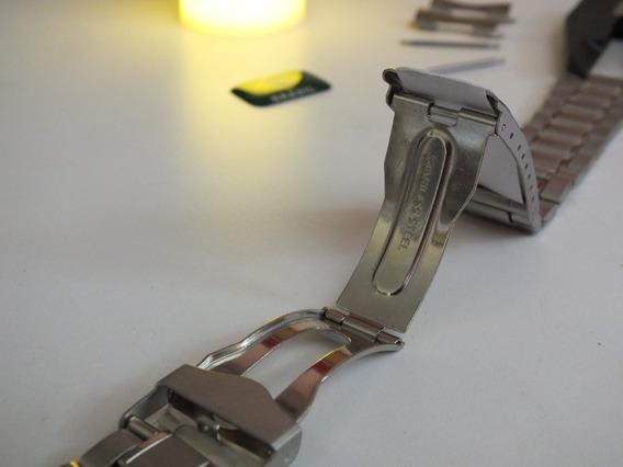 Pulseira Aço Para Relógio Citizen-orient-technos 22 Mms
