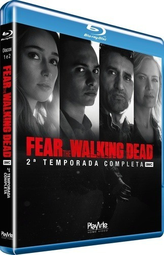 Blu-ray - Fear The Walking Dead - 2ª Temporada - Lacrado