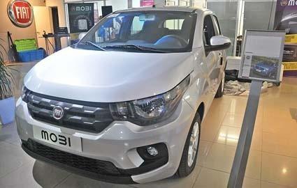 Fiat Mobi 2020 0km - Anticipo 80 Mil O Entrega Tu Usado/l