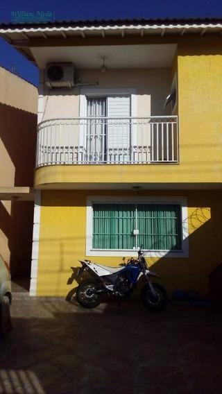 Sobrado Com 3 Dormitórios À Venda, 118 M² Por R$ 590.000,00 - Jardim Bom Clima - Guarulhos/sp - So1599