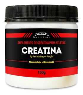 Creatina Monoidratada - 150g - Nitech Nutrition