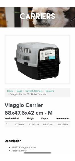 Jaula Transportadora Para Perro Aprobada Para Viajar