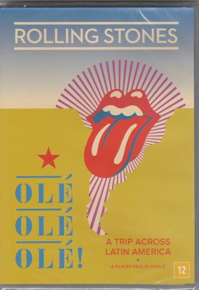 Rolling Stones - Dvd Ole Ole Ole - Trip Across Latin America