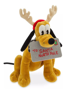 Disney Parks Peluche Pluto Holiday 30 Cm, 2019