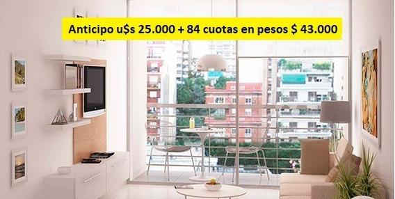 Emprendimiento Monoambientes , Anticipo U$s 25.000 Y 84 Cuotas En Pesos $ 43.000 Posesión Marzo 2020