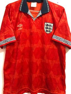 Camisa Inglaterra U. S. Cup 1993 Autografada 13 Jogadores