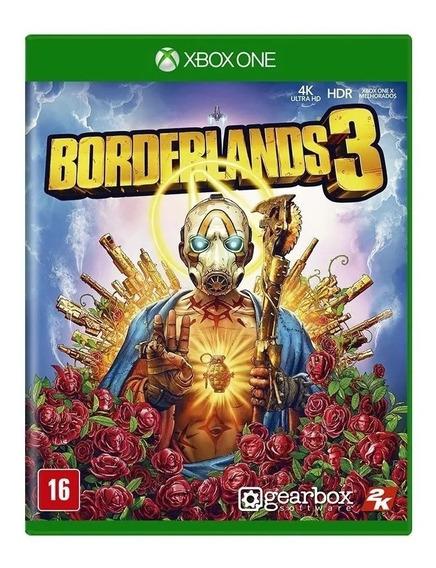 Borderlands 3 Xbox One Mídia Física Nacional Lacrado Rj