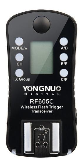 Radio Flash Yongnuo Rf 605 C Canon 70d 6d T5i T6i - 1 Unid