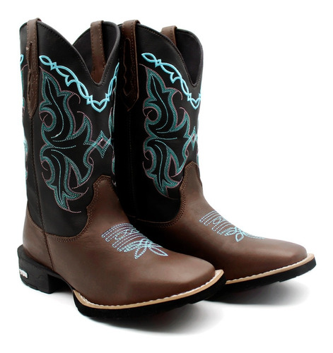 Bota Butina Country Texana Feminina Rodeio Super Conforto