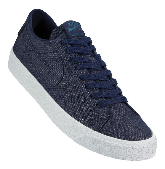 Zapatillas Nike Sb Zoom Blazer Low Azules Hombre Nike Sb