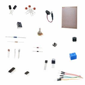 Resistor + Capacitor + Led + Jumper + Led - 150 Peças