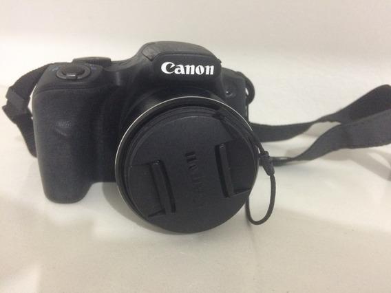 Câmera Semi Profissional Canon Sx520 Hs