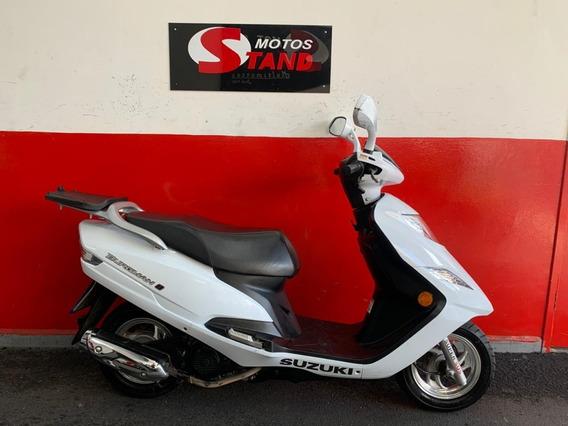 Suzuki Burgman 125i 125 I 2015 Branca Branco