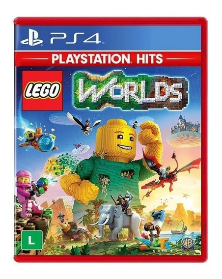 Lego Worlds Ps4 Mídia Física Novo Lacrado Português