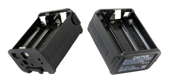 2x Substituição 6xaa Bateria Pack Caixa Caso Para Kenwood Th