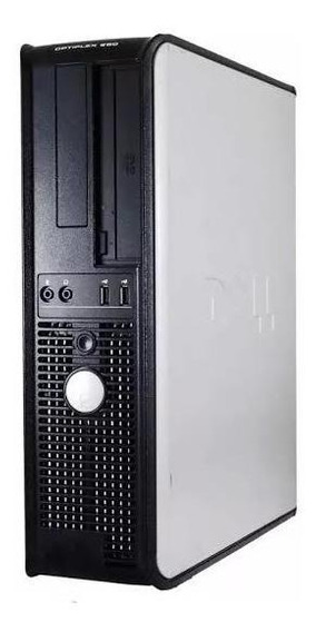 Cpu Desktop Dell Optiplex 360 Dual Core Hd 160gb Mem 4gb