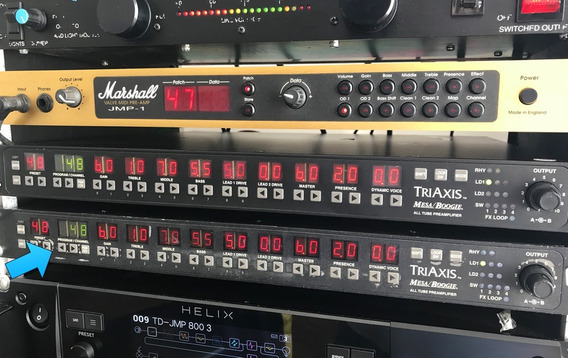 Preamp Mesaboogie Triaxis - Rack